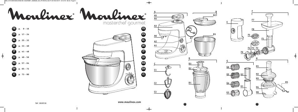 moulinex masterchef gourmet qa402g user manual 82 pages. Black Bedroom Furniture Sets. Home Design Ideas
