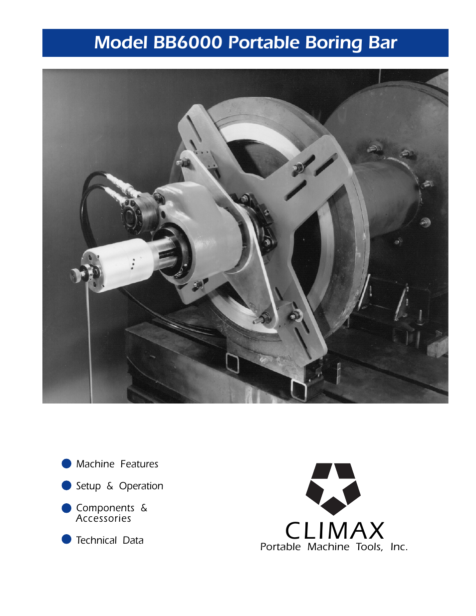 climax boring machine