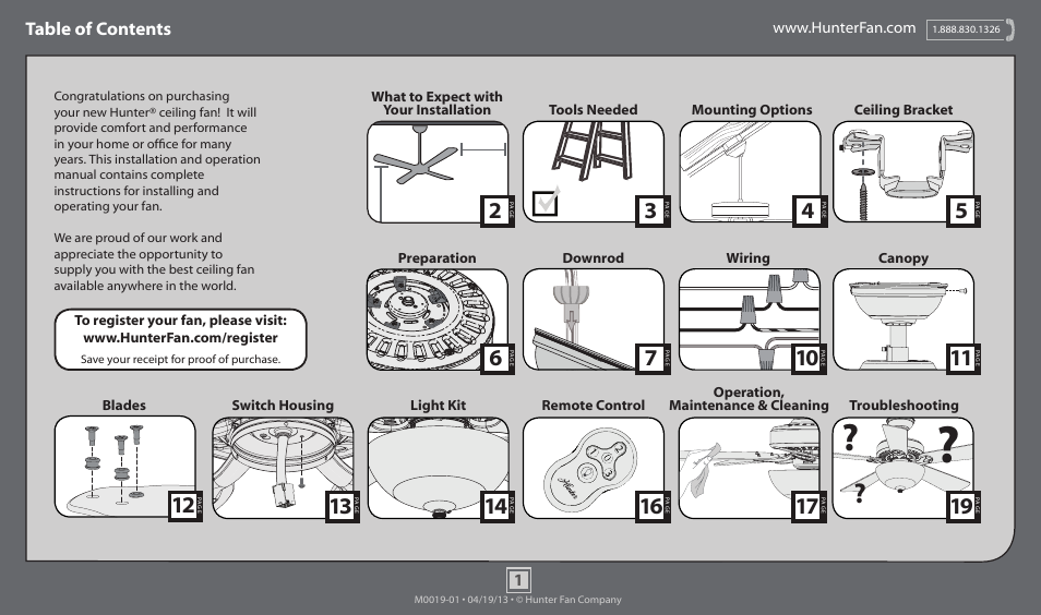 Hunter Ceiling Fan Installation Manual Complete Wiring Diagrams