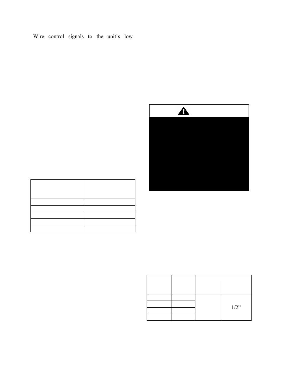 gm wiring schematics online thermostat control wiring, gas heating, table 4 - control wiring   aaon rq-006 user manual ...