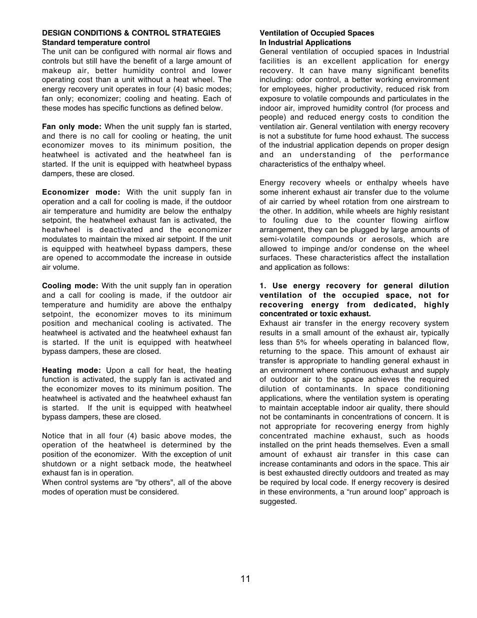 Aaon Rk Series User Manual Page 11 16 Also For Rm