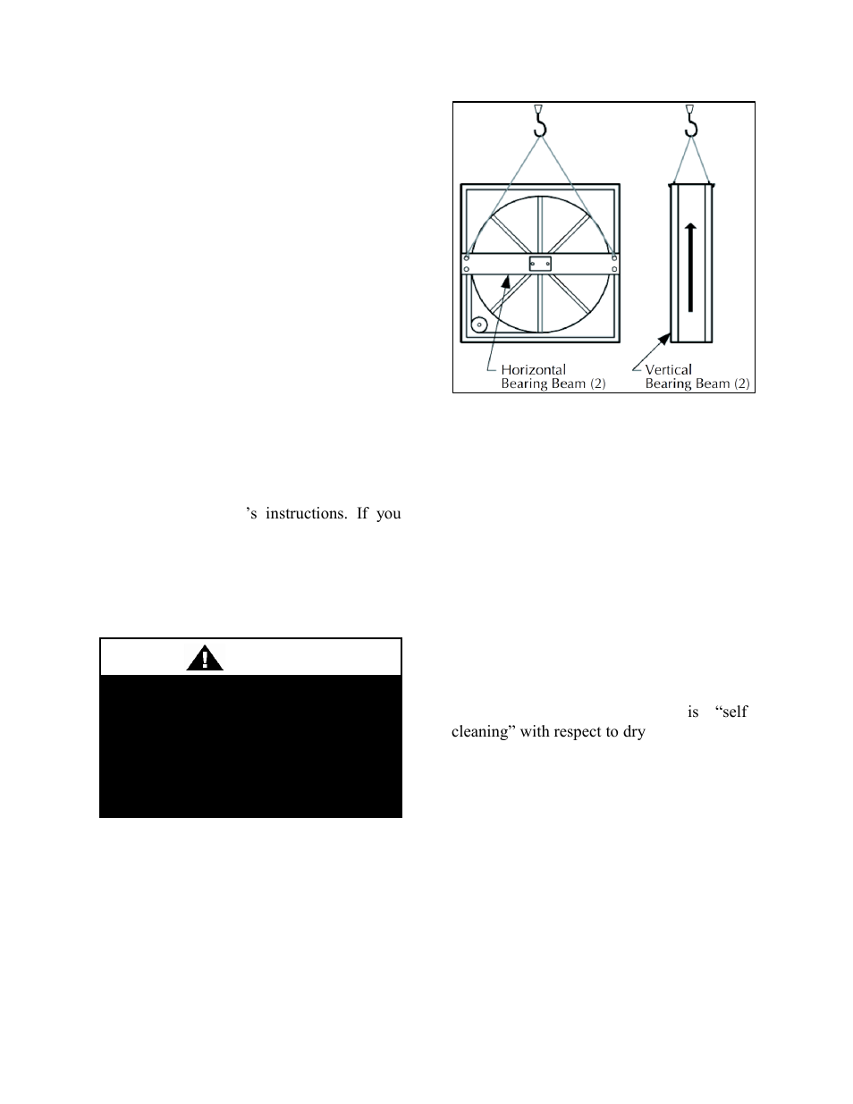 Warning | AAON RN-140 User Manual | Page 65 / 116 on