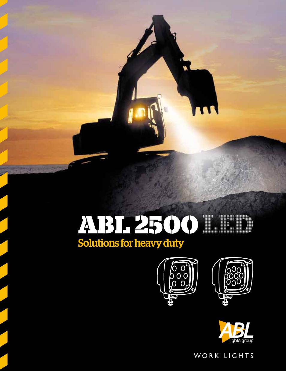 abl lights group abl 2500 led 5000 user manual