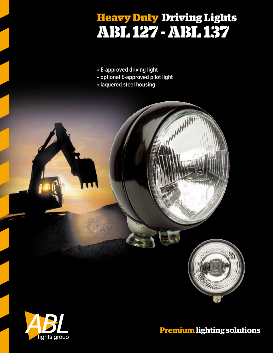 Abl Lights Group 137 User Manual 2 Pages Also For