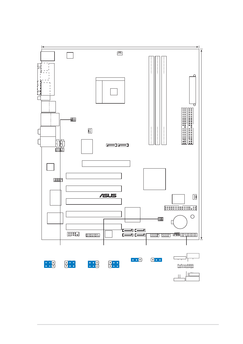 3 Motherboard Layout  Asus K8n