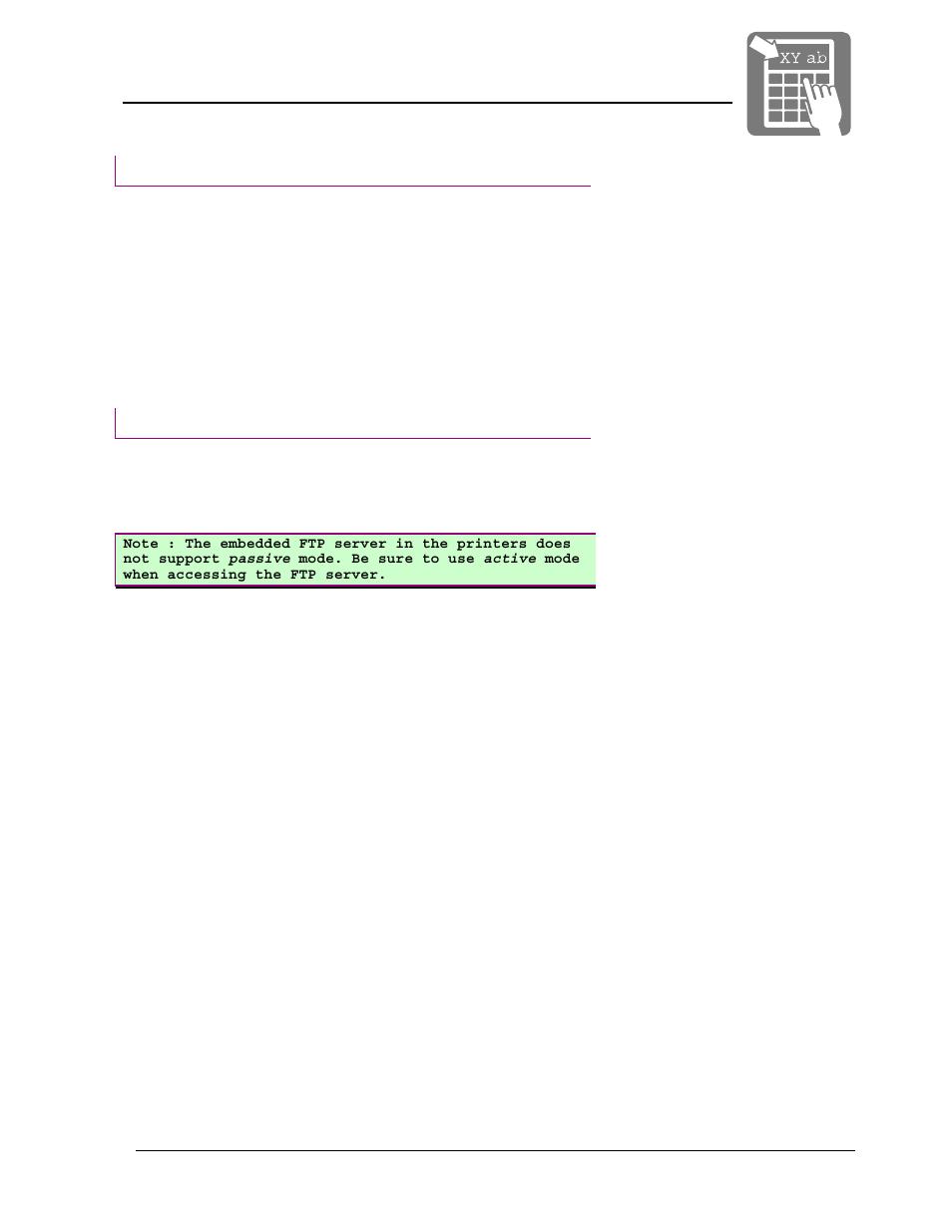 Operation, User manual | Datamax-O'Neil Netcenter User
