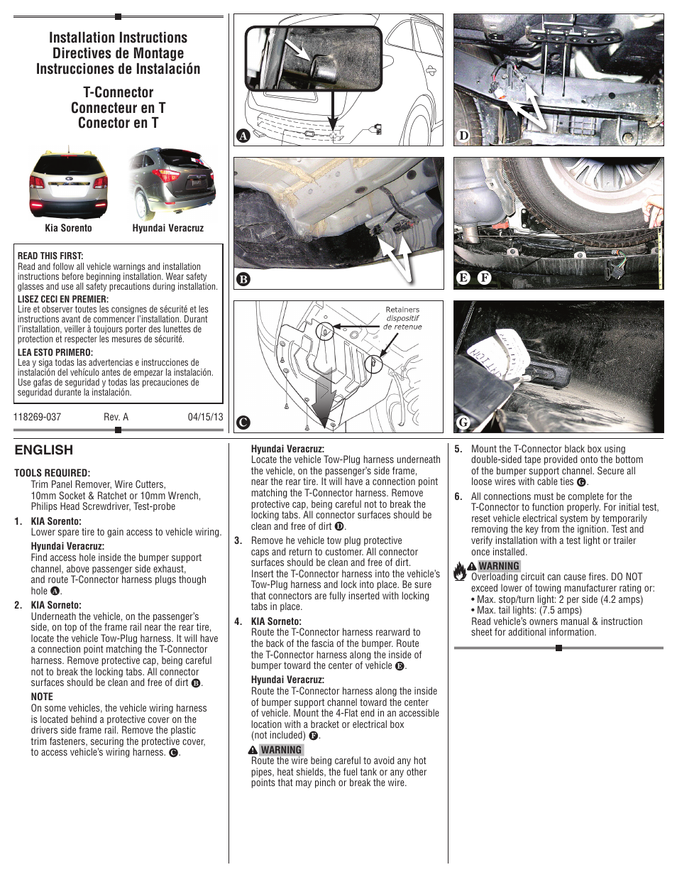 Draw-e 118269 OEM WIRING HARNESS User Manual | 2 pages on