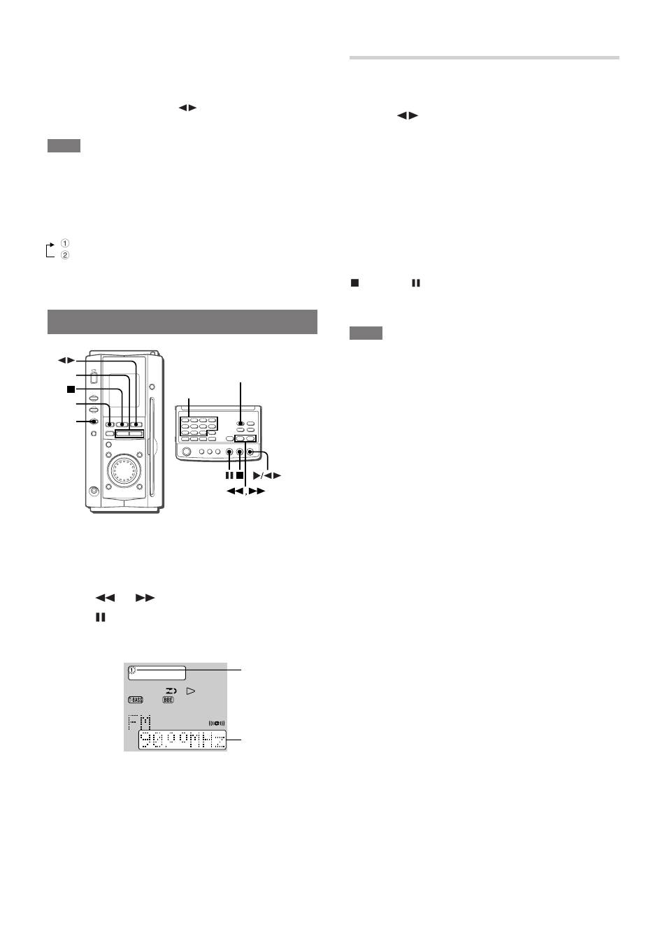 Aiwa xr-ms3 cd system owners instruction manual reprint [plastic.