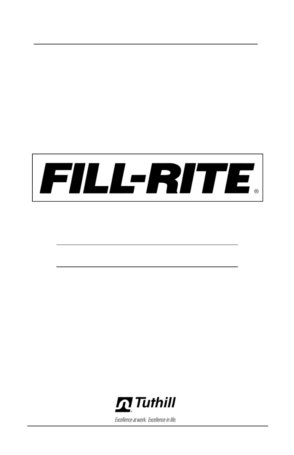 Fill-Rite FR600G Series AC Transfer Pumps User Manual | 80