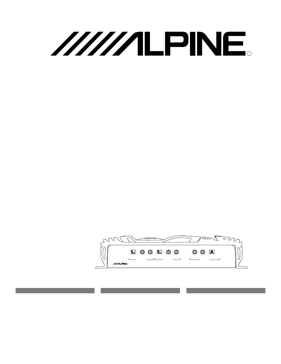 Alpine Mrv F353 User Manual 20 Pages Also For F303 T303 Amp Bridged Wiring Diagram