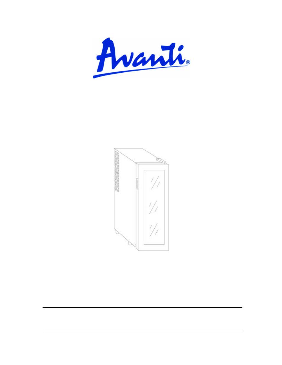 avanti ewc12 ewc120b user manual 18 pages rh manualsdir com avanti 928 treadmill instruction manual User Manual