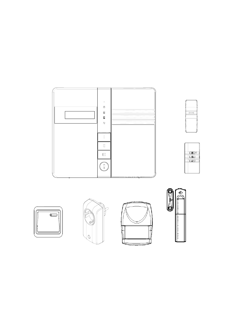 elro his20s security  u0026 home automation system expanded