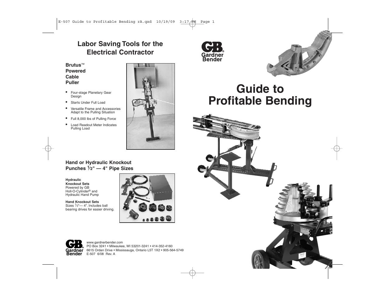 New Gb Gardner Gsw Manual Guide