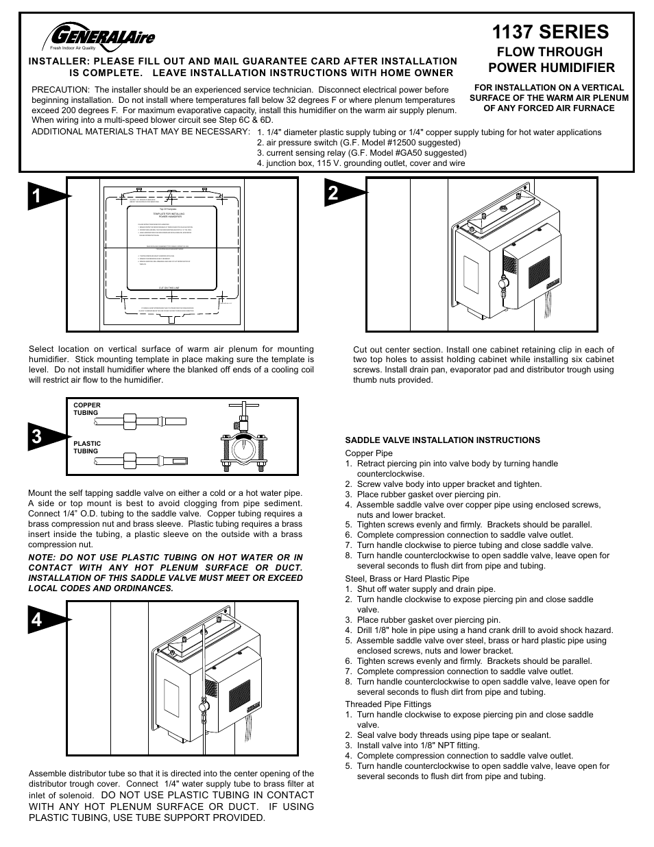 General 1137 Humidifier Wiring Diagram Start Building A Bryant Images Gallery