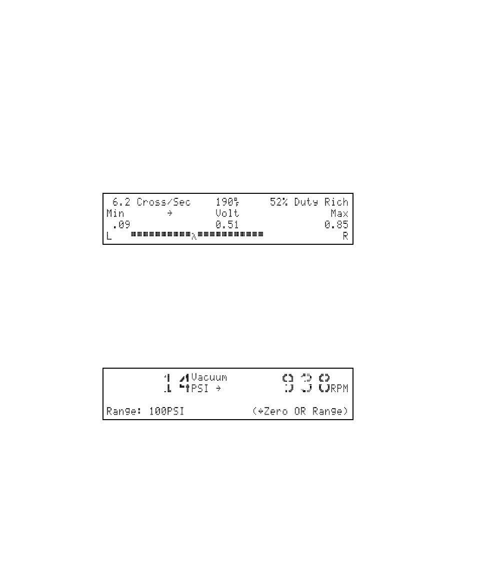 O2 sensor test, Vacuum / pressure meter | GxT Ferret 54