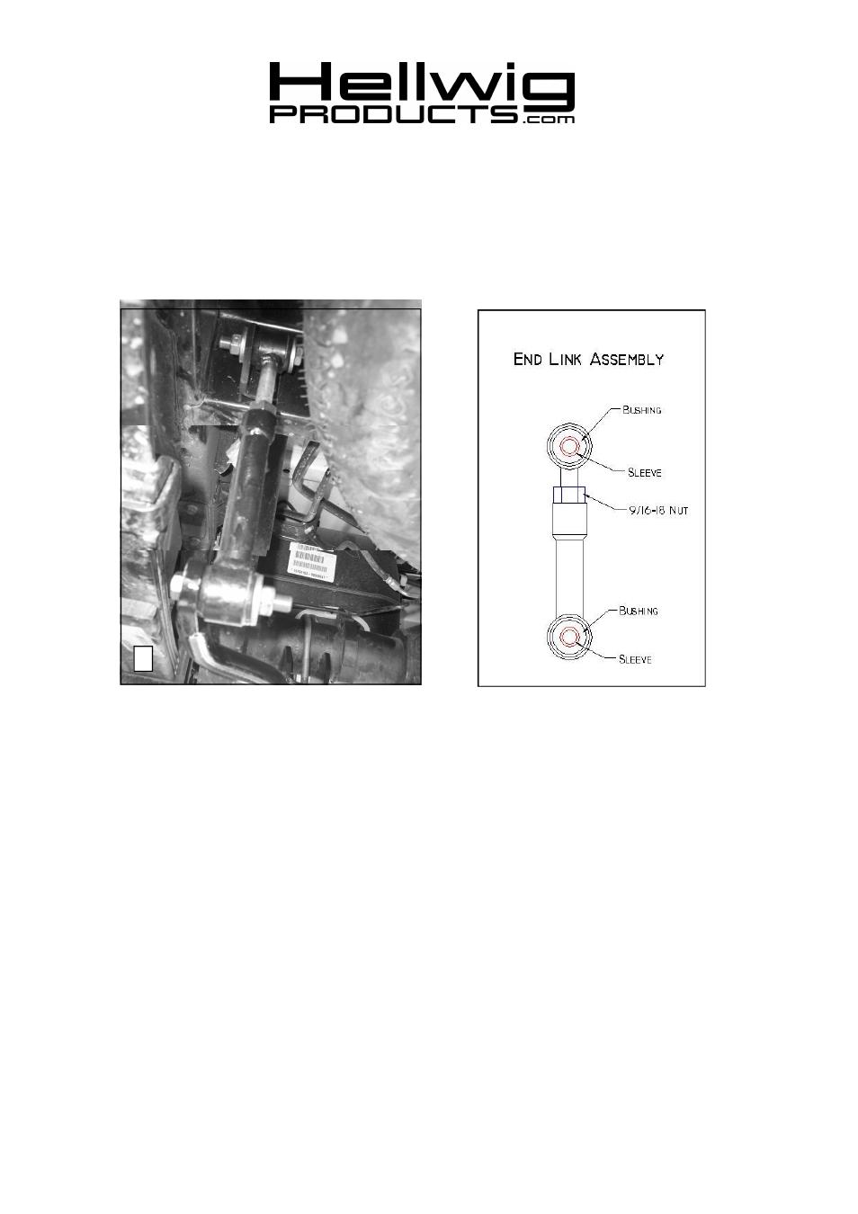 Installation Instructions  Rear Stabilizer Bar  2004