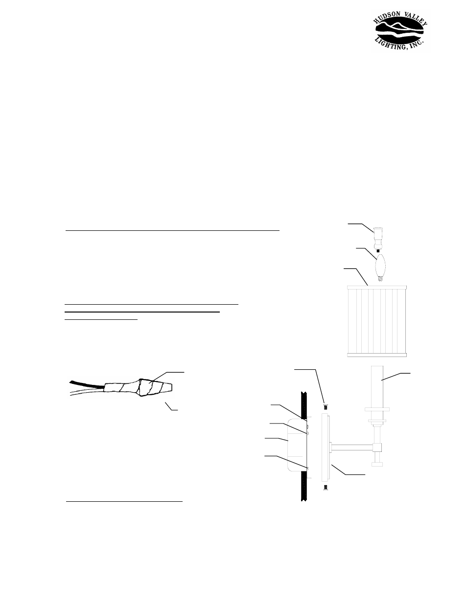 Hudson Valley Lighting Berwick 241 User Manual 1 Page Also For Fuse Box Short Circuit Along With How To Wire An Electrical Outlet 242