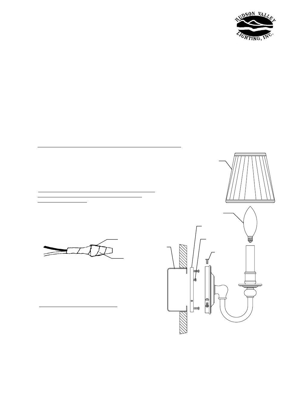 Hudson Valley Lighting Newport 1902 User Manual 1 Page Also For Recently Removed The Wire Nuts On Two Lights Controlled By 1901