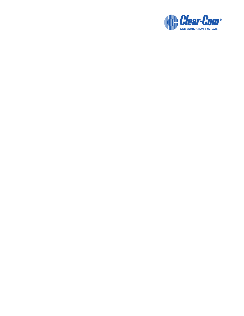 Clearcom Wiring Diagram Library Honda C72 And C77 Motorcycle All About Clear Com Cci 22 User Manual 36 Pages