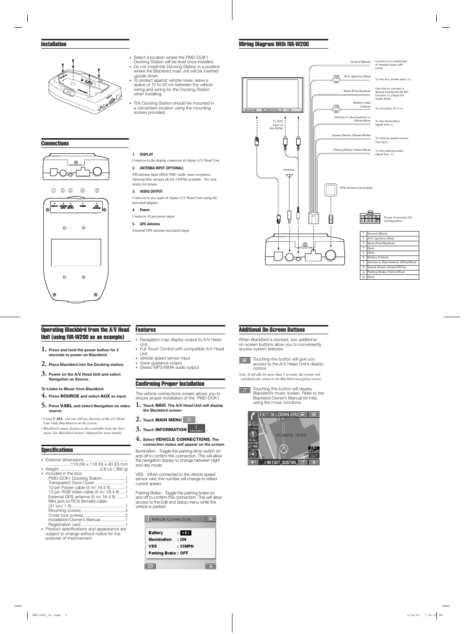 W200 Wiring Diagram Building 1977 Dodge Connections With Iva Specifi Cations Alpine Home Electrical Diagrams