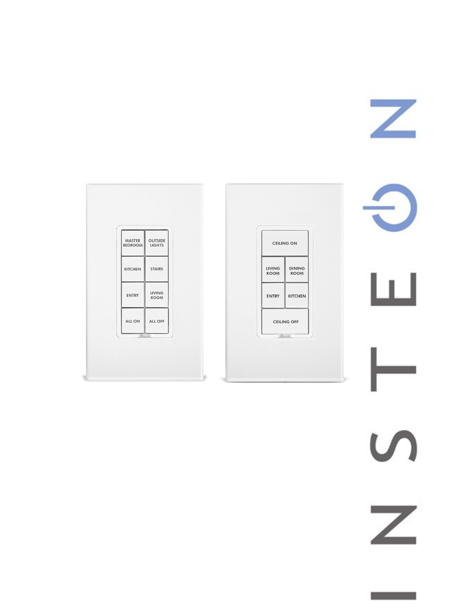Insteon Keypad Wiring Diagram Trusted Schematics 3 Way Switch Keypadlinc Dimmer 8 Button 2486dwh8 Manual User Light