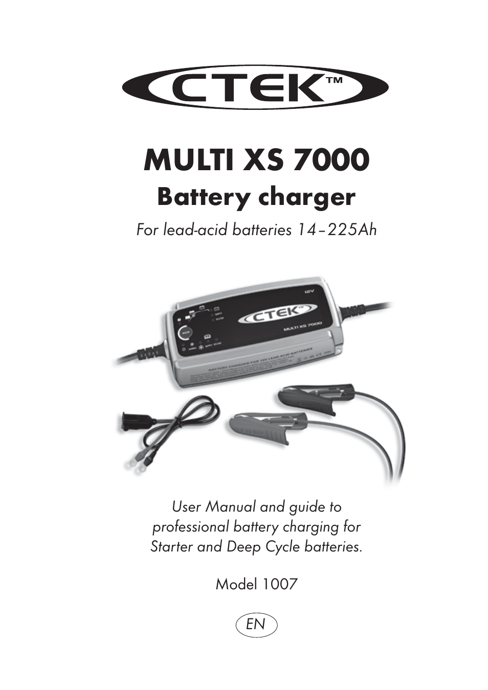 Ctek power usa tablet accessory multi xs 7000 battery charger 1007.