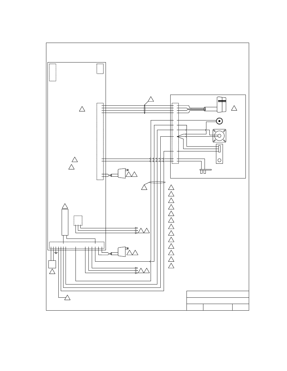 doorking 1838 multi door access controller page19 doorking 1838 multi door access controller user manual page 19 51 on door king 1838 wiring diagrams