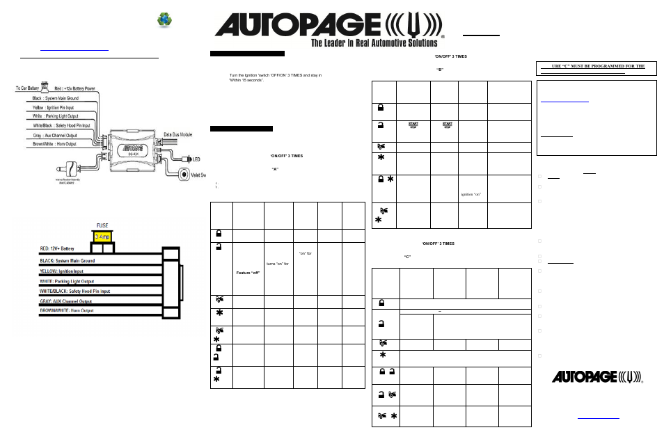 autopage alarm wiring diagram free diagrams  diagram  auto