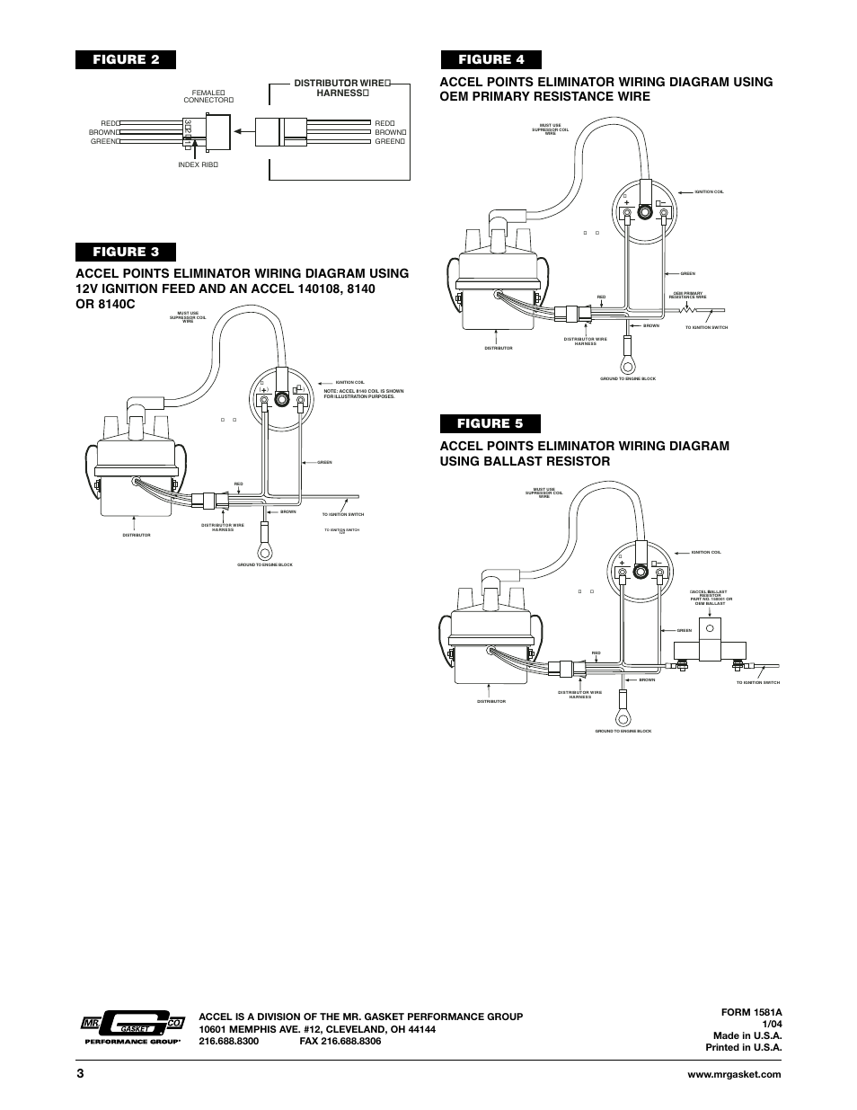 Mallory Ignition Accel Points Eliminator Conversion Page on Accel Points Eliminator Wiring Diagram