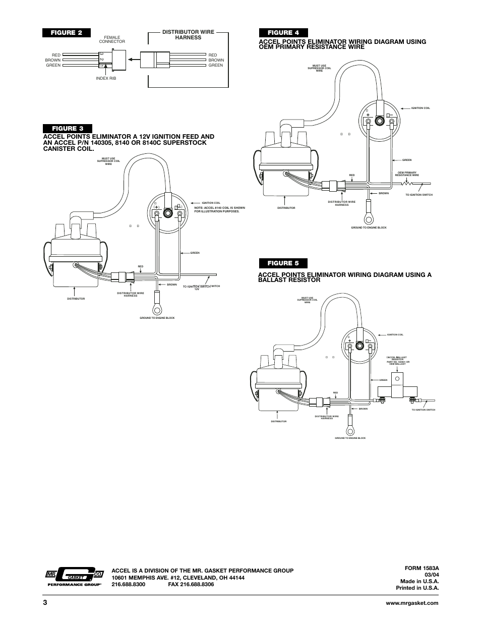 Accel Tach Wiring Diagram Solidfonts Diagrams Street Billet Distributor Image On