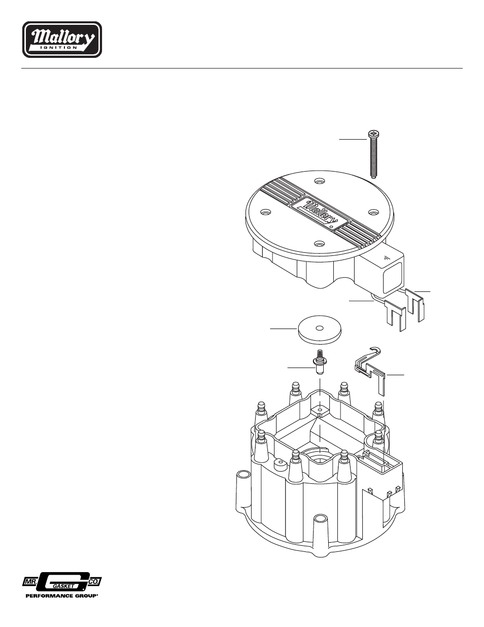 Mallory Ignition Wiring Diagram Hei Distributor on