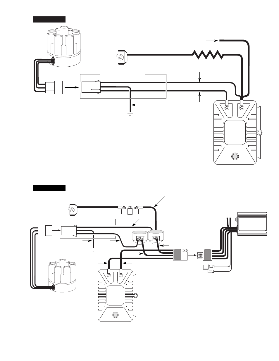 Ignition Coil Distributor Wiring Diagram Engine Scheme For Your Volvo Aq131 Mallory Unilite User Manualcoil Manual Page