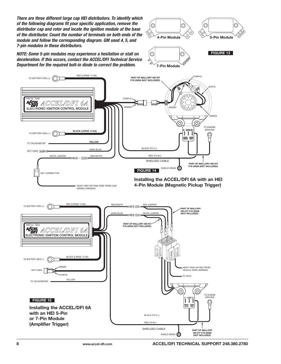 Accel Dfi Controller Wiring Diagram Trusted Distributor Hhy Yf Fiir Re E 6 6a A Aac Cc Ce El L D Df Fii Mallory Rh Manualsdir Com Gen 7 Coil
