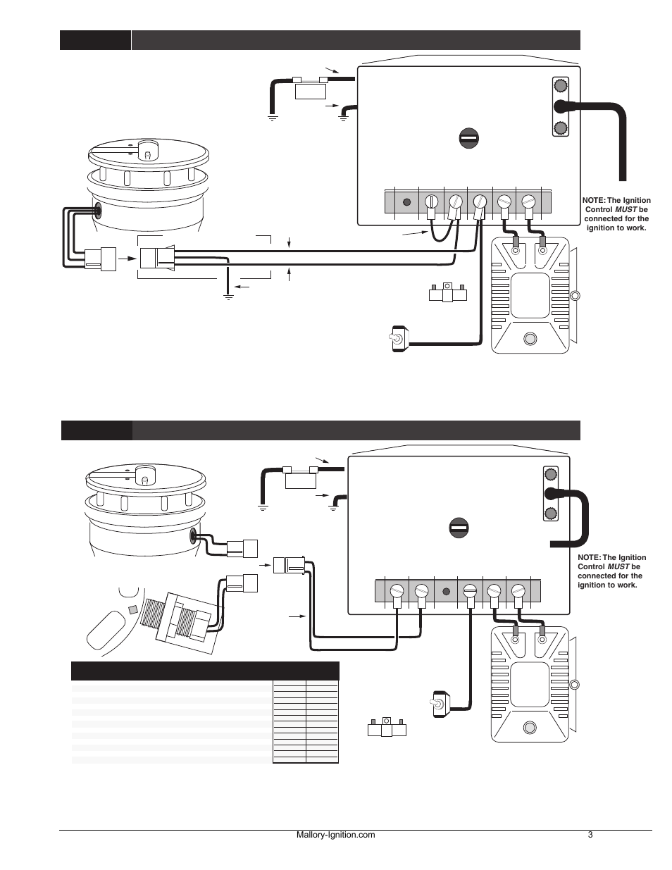 Mallory Unilite Wiring Diagram Mg | Wiring Liry on