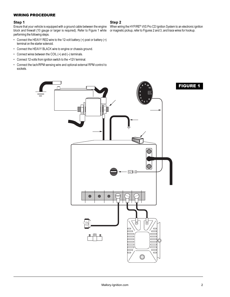 Mallory Pro Comp Ignition Wiring Diagram | Wiring Liry on