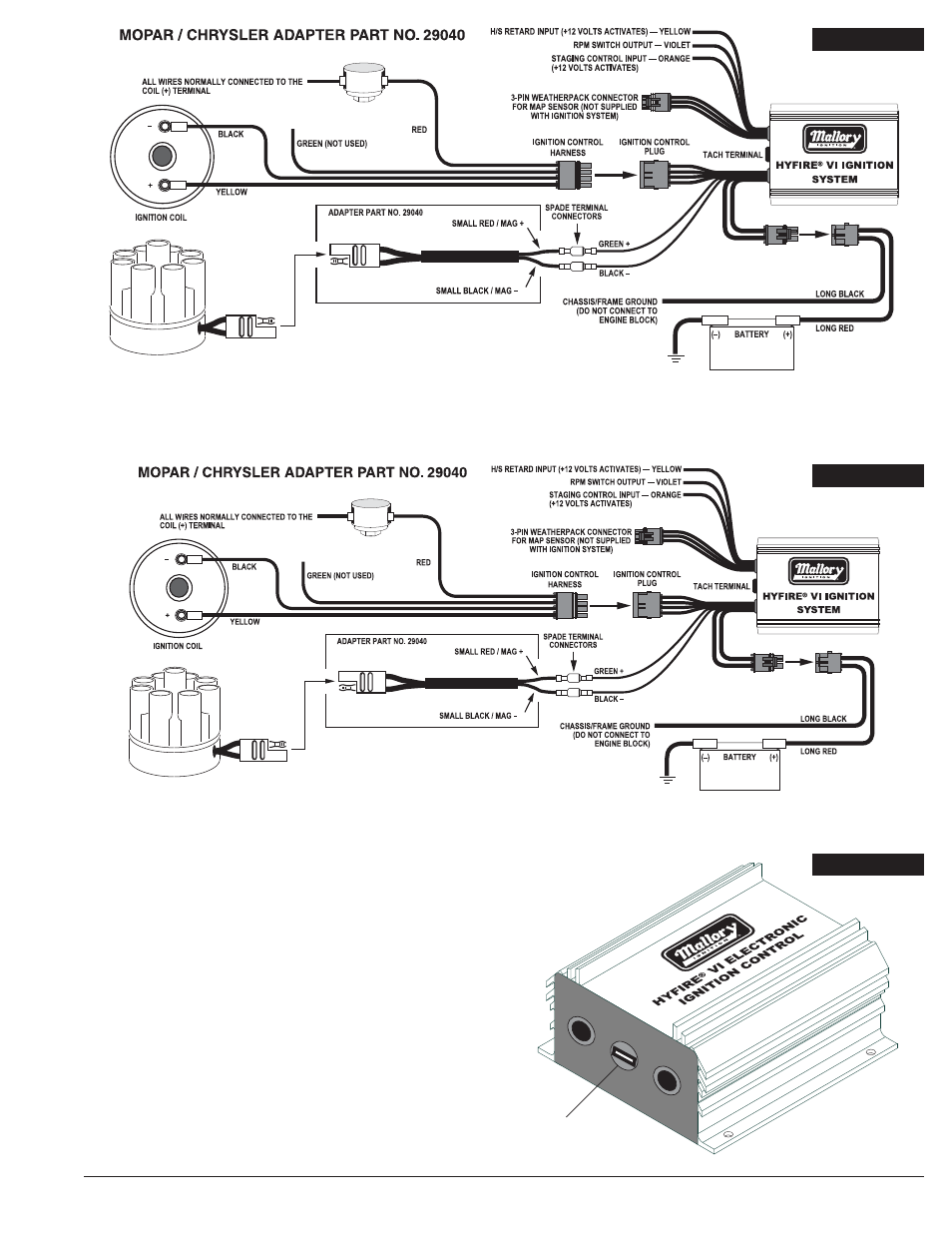 Mallory Hyfire Wiring Diagram For Cj7    Wiring Diagrams Home on