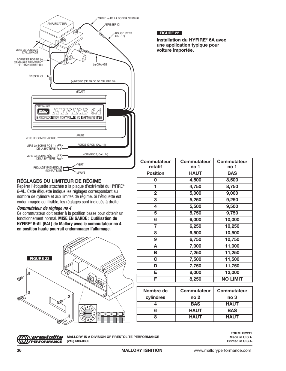 Mallory Ignition Wiring Diagram Solutions Electronic Distributor Hyfire
