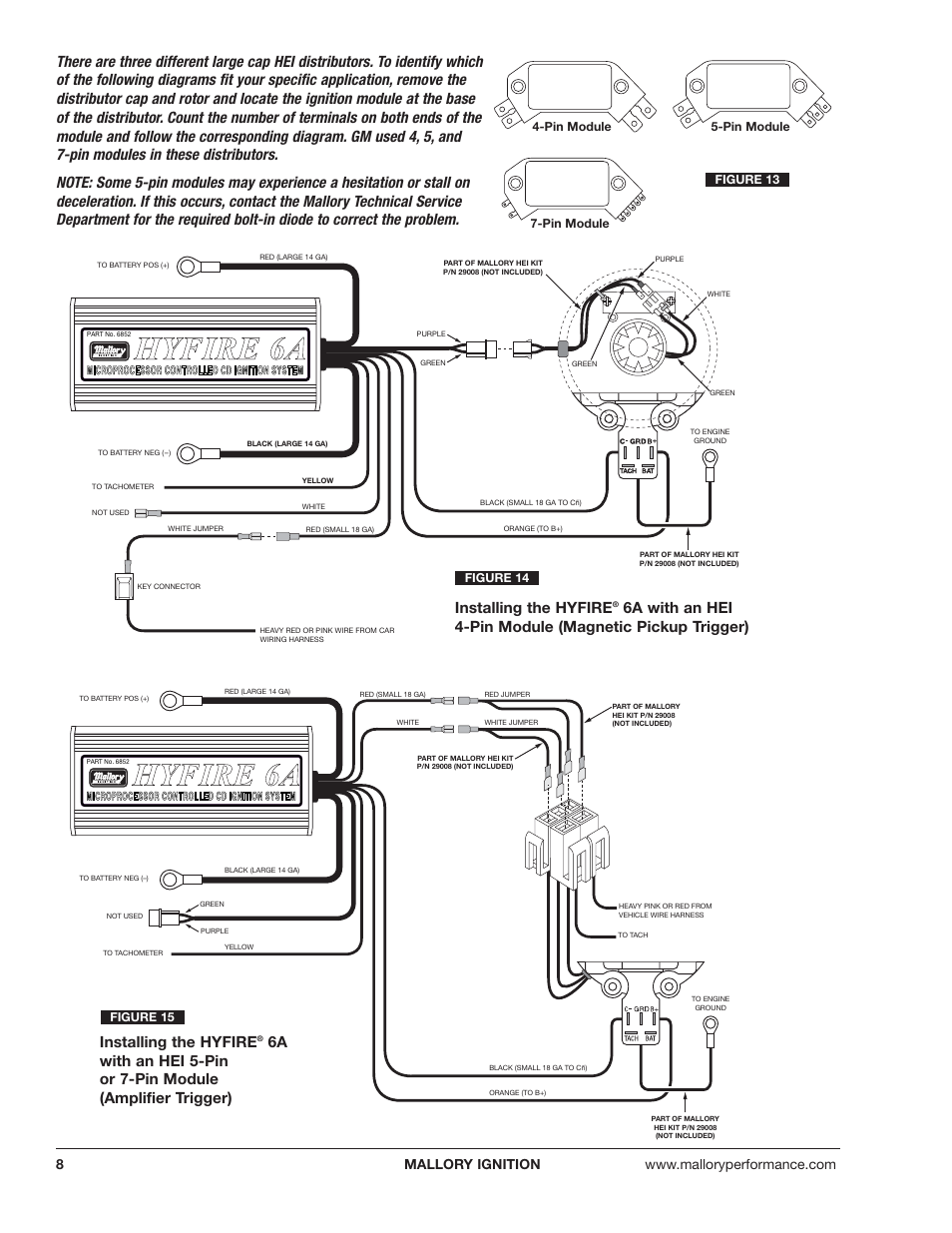 mallory hyfire wiring diagram hhy yf fiir re e 6 6a a | mallory ignition mallory hyfire ...