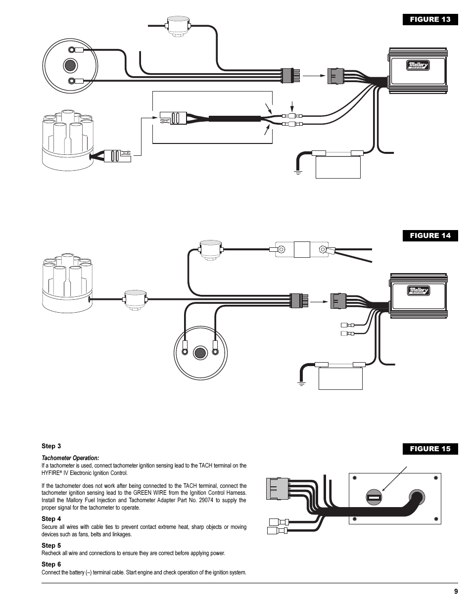 Mallory Hyfire Wiring Diagram Unilite Schematics Diagrams Msd 6al Comp 9000 Mallery Distributor Ignition Mag 6021 6a