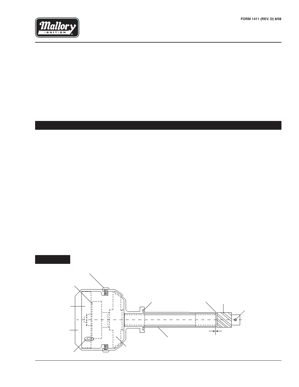mallory ignition mallory unilite distributor a556 page1 mallory ignition mallory unilite distributor �556 user manual 2 mallory unilite module wiring diagram at sewacar.co