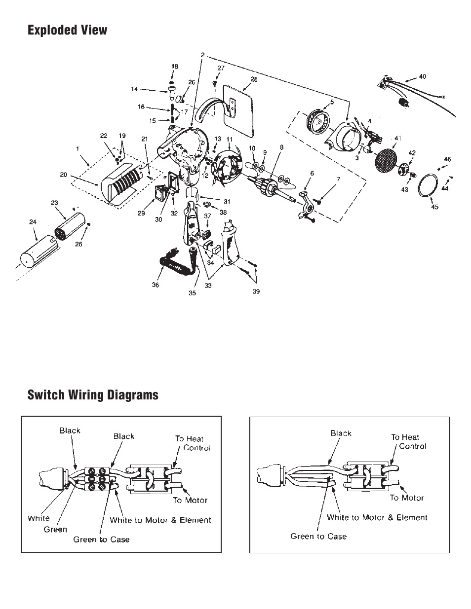 exploded view switch wiring diagrams