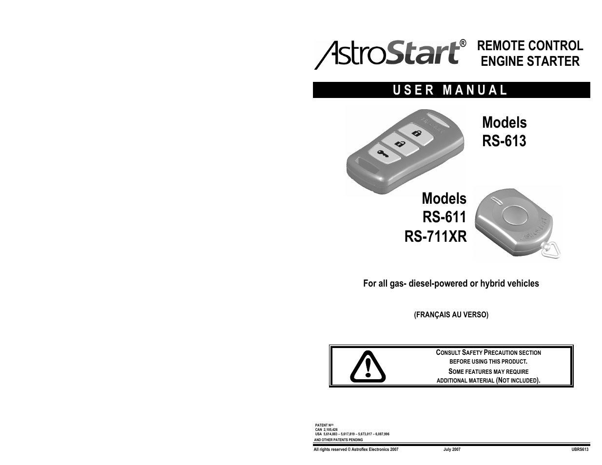 astrostart rs 611 page1 astrostart rs 611 user manual 12 pages also for rs 711xr, rs 613 wiring diagram for astrostart rs 613 at gsmportal.co