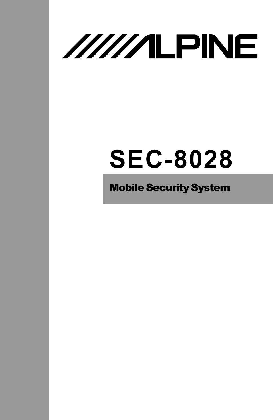 alpine sec 8028 page1 alpine sec 8028 user manual 48 pages also for sec 8205 alpine sec-8028 wiring diagram at beritabola.co