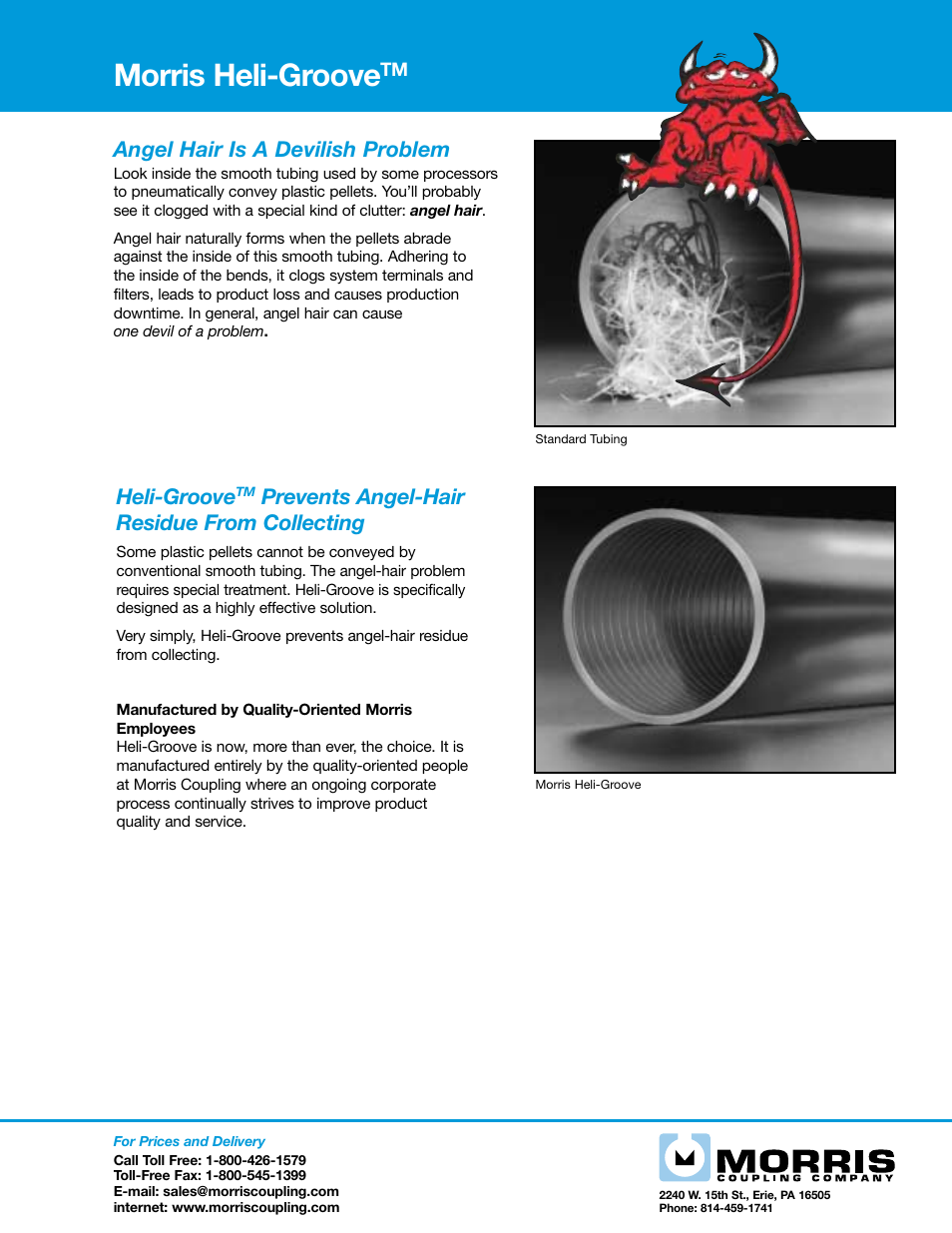 Morris Heli-Groove User Manual   1 page