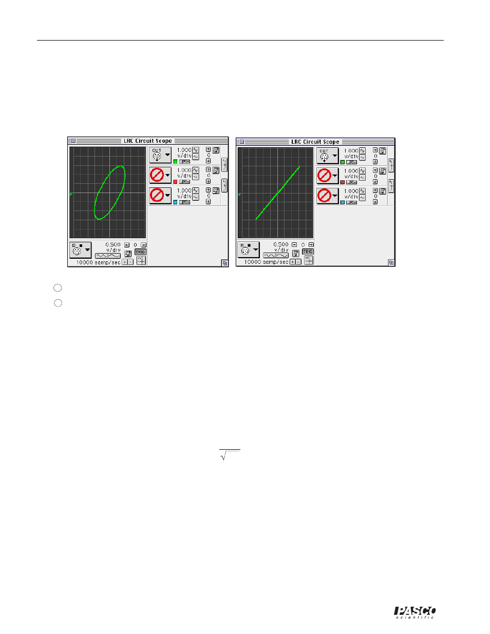 Pasco Em 8656 Ac Dc Electronics Laboratory User Manual Page 58 126 Linear Inductance Meter Circuit Schematic