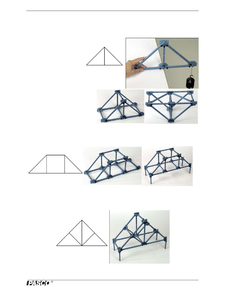 Trusses Kingpost Truss Queenpost Pasco Me 6992b Advanced Roof Diagram Structures Set User Manual Page 11 58