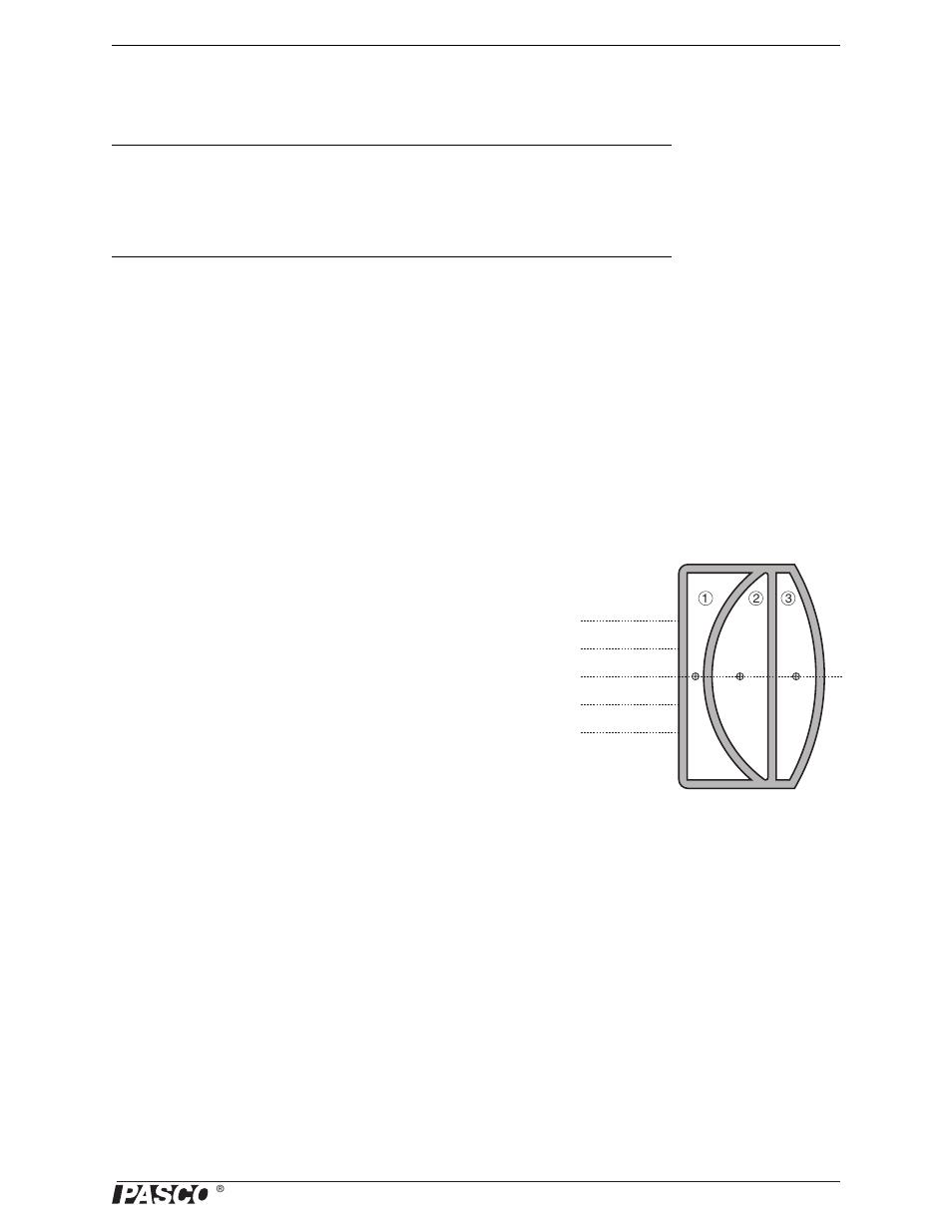 Experiment 7: hollow lens, Purpose, Background | PASCO OS-8459