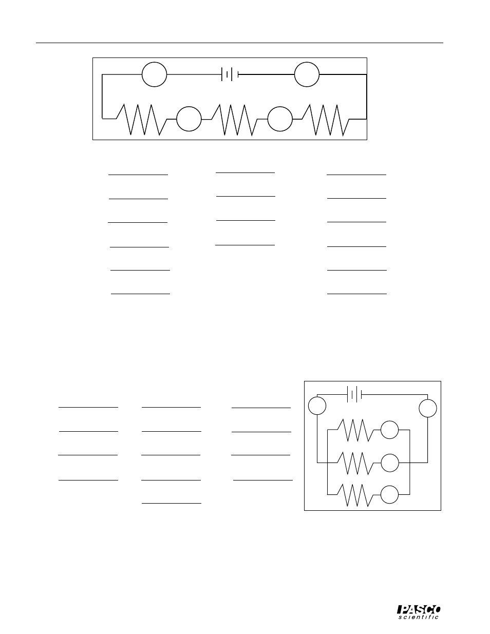 Parallel Discussion Pasco Em 8622 Basic Electricity User Manual Basicelectricity Page 24 44