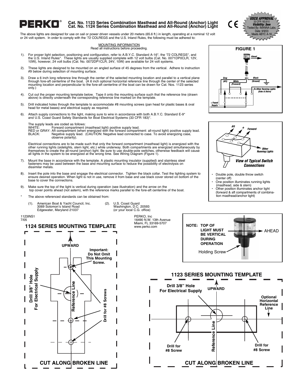 Mast Light Wiring Diagram Wiring Diagram