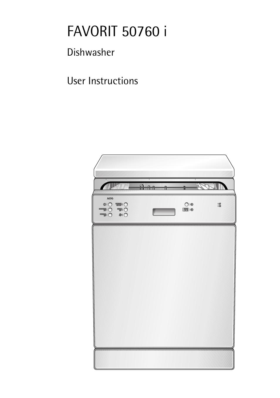 aeg favorit 50760 i user manual 44 pages rh manualsdir com aeg dishwasher installation instructions aeg favorit 443 dishwasher user manual